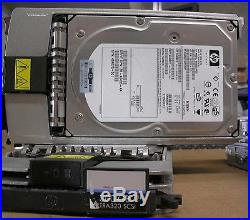 HP 300GB Wide ULtra320 SCSI HD model BD3008A4C6 With Caddy