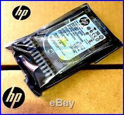 HP 600gb 10k 581286-b21 Sas 6g 2.5 Hard Drive 581311-001 Proliant Server