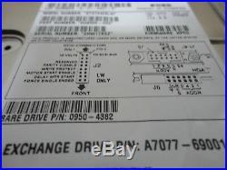 HP 73Gb 68Pin SCSI 15K C8000 A7077-69001 A7077A 0950-4382 ST373453LW FW HPC5