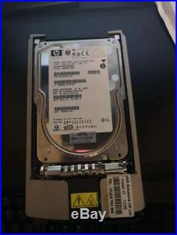 HP Compaq Hard Drive HP 300-GB U320 SCSI HP 10K HDD