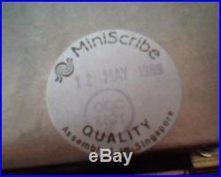 Hard Drive Disk SCSI Apple Miniscribe 8425 8425SA 06 03 07 03A AXX 3.3A