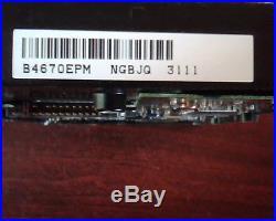 Hard Drive Disk SCSI Maxtor Atlas 10K IV B4670EPM NGBJQ E-H011-01-0101 D33019