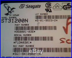 Hard Drive Disk SCSI Seagate Hawk ST31200N 950001-036 S-01-9523-2 SGI-9410902-1