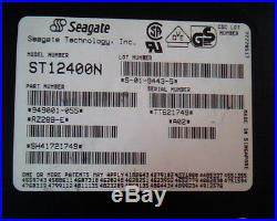 Hard Drive Disk SCSI Seagate ST12400N 949001-055 S-01-9443-5 A02 RZ288-E HDD