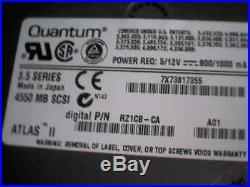 Hard Drive Quantum 4550J HN45J016 Rev 03-D DEC RZ1CB-CA 4550 MB SCSI 80-pin SCA