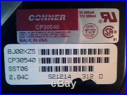 Hard Drive SCSI Conner CP30540 SST06 BJ00XZ5 D93-019