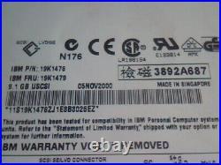Hard Drive SCSI Disk IBM ST39236LW 19K1478 9N3012-YYY