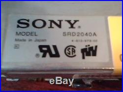 Hard Drive SCSI Disk Sony SRD2040A 1054285 Apple 40