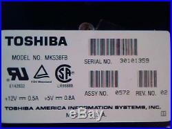 Hard Drive SCSI Disk Toshiba MK538FB A3324221 0572 Rev 02 HDD 1.2G Ontario