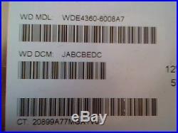 Hard Drive SCSI Disk Western Digital WDE 4360 WDE4360-6008A7 JABCBEDC Enterprise
