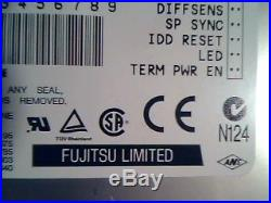 Hard Drive SCSI Fujitsu Limited MAE3182LP CA05348-B450