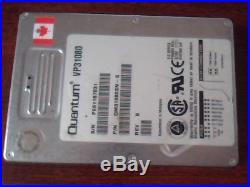 Hard Drive SCSI Quantum VP31080 QM31080SN-S RevB 50-Pin SCSI 1GB 3.5