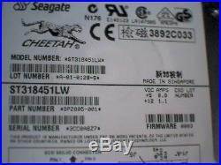 Hard Drive SCSI Seagate Cheetah ST318451LW 18GB 15K 68-pin 9P2005-001 Ultra160