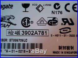 Hard Drive SCSI Seagate Cheetah ST336706LC 9T9001-001
