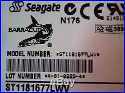 Hard Drive SCSI Seagate ST1181677LWV 9R9008-001 MIC