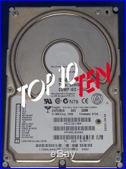 IBM 08L8404 HDD 36GB 3,5 LFF 7.2K Ultra 2 SCSI Hard drive
