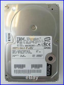 IBM 3119 36GB 10K RPM U320 SCSI 68-Pin 3.5 Hard Disk Drive HDD, No Tray q8