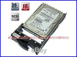 IBM 33P3381 73GB 15K U320 80pin SCA SCSI Hard Drive 32P0737