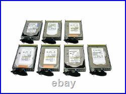 IBM 4328-9406 4328 141GB 15K U320 SCSI Hard Drive Disk Lot of 7