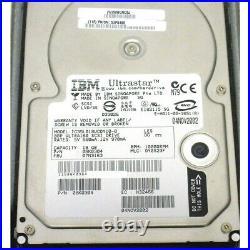 IBM 6818-9406 6818 17.54GB 10K SCSI Hard Drive AS/400 DASD Lot of 4