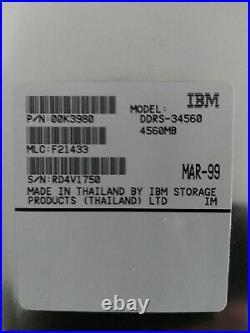 IBM DDRS-34560 Ultrastar 9ES 4GB SCSI HDD NOS