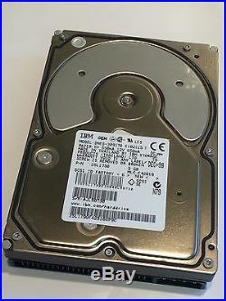 IBM DNES-309170 25L1790 9GB 50-PIN SCSI DRIVE fcb2