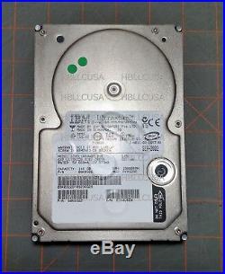 IBM Ultrastar 08K0322 IC35L146UWDY10-0 146GB 68-pin SCSI Hard Drive Tested