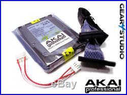 INTERNAL 146Gb SCSI HARD DRIVE KIT FOR AKAI S5000 / S6000 SAMPLERS