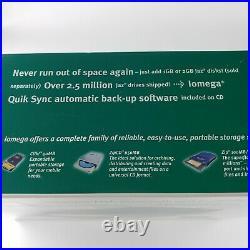 Iomega Jaz 2 GB SCSI External Hard Drive 31191 + Power Supply for 1GB 2GB Disk