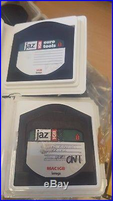 Iomega Jaz Portable SCSI 2 x 1gb hard drives upgrade BOXED EXCELLENT CONDITION