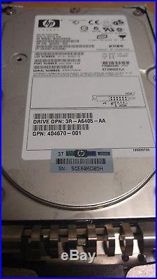 Job Lot 10 x 300GB HP 360205-023 3.5 SCSI 80-Pin Ultra320 10K Hard Drive Caddy
