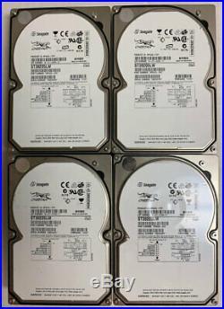 LOT OF 4 Seagate Cheetah ST39205LW 9GB SCSI 68PIN 10KRPM 3.5 Hard Drive 68 PIN
