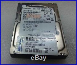 Lenovo 300gb 15k SCSI Sas 2.5 Sff Thinkserver Hard Drive Hot Swap Hdd 03t7879