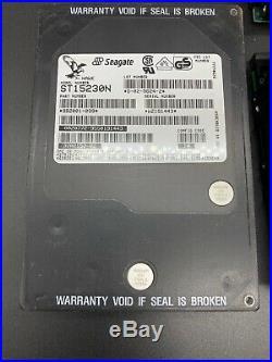 Lot Of 4 SEAGATE ST15230N 4GB 50-PIN SCSI HARD DRIVE P/N9B2001-039