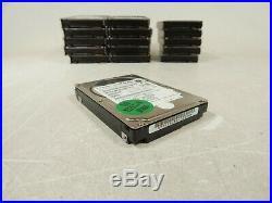 Lot of 16x Toshiba MBF2600RC 600GB 2.5 Serial Attached SCSI SAS Hard Drive