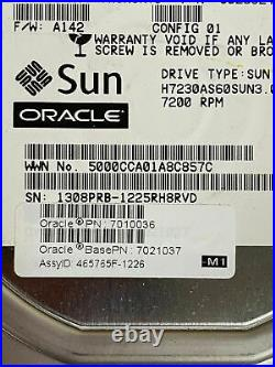 Lot of 20 Sun Oracle 3TB Hard Drives HUS723030ALS640 7010036 7021037