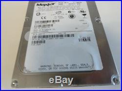 Lot of 3 MAXTOR Atlas 0N4715 146GB 10K SCSI Hard Drive