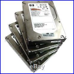 Lot of 4 HP 412751-016 BF300826C 3.5 300GB 15K Ultra320 SCSI HDD Hard Drive