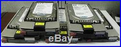 (Lot of 5) 300GB Wide Ultra320 SCSI Hard Disk Drive 3.5 HP Spare 404701-001