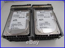 Lot of 6 Dell 2R700 73GB 10K 8MB Hot Swap 3.5 SCSI U320 Hard Drive HDD + Tray