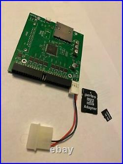 Macintosh 8GB SD Hard Drive System 7.5.5 classic II, Se/30 68k APPS GAMES SCSI