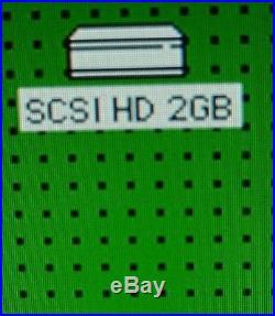 Macintosh External SCSI Harddrive With Tons Of Games! Hd Size 2gb SCSI Mac Games