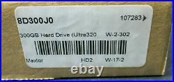 NEW Maxtor 8D300J0 300GB SCSI Hard drive Atlas 10K V 3.5 U320 Server Desktop