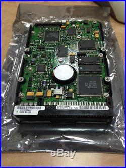 New IBM Dghs 04z 4gb 3.5 SCSI 50-pin Hard Drive 7200rpm Pn 09l0696