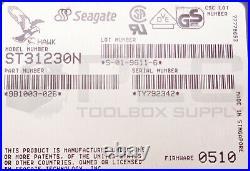 New Seagate 9b1003-026 Hawk St31230n Hard Drive Hdd, 1gb