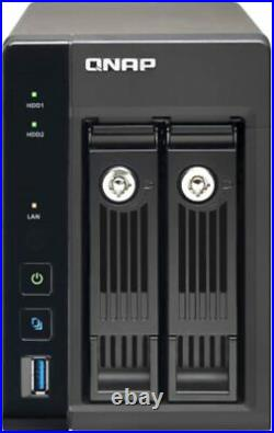 QNAP TS-253 Pro (2-bay NAS, 2GB RAM, Intel Quad-core 2GHz CPU) + 3TB Hard Drive