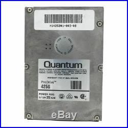 Quantum 425 S Mu425201-001-08 425mb 50 Pin SCSI 3.5p Hard Drive 425s