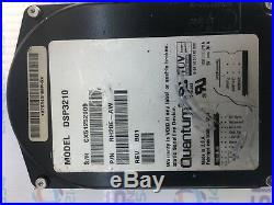 Quantum DSP3210 RH20E -AW 3.5 HH 2.1Gb 50-pin SCSI HARD DRIVE