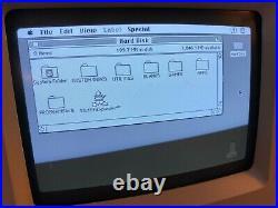 Quantum Macintosh Classic 340mb SCSI Hard Drive System 7.0 preloaded APPS GAMES