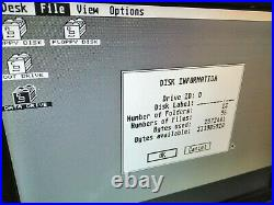 SCSI 340MB Hard Drive for Atari 1040 STE. Formatted and Tested. Cubase & Notator